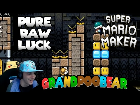 GRAND sPOOky houses, BEARly surviving: Mario Maker