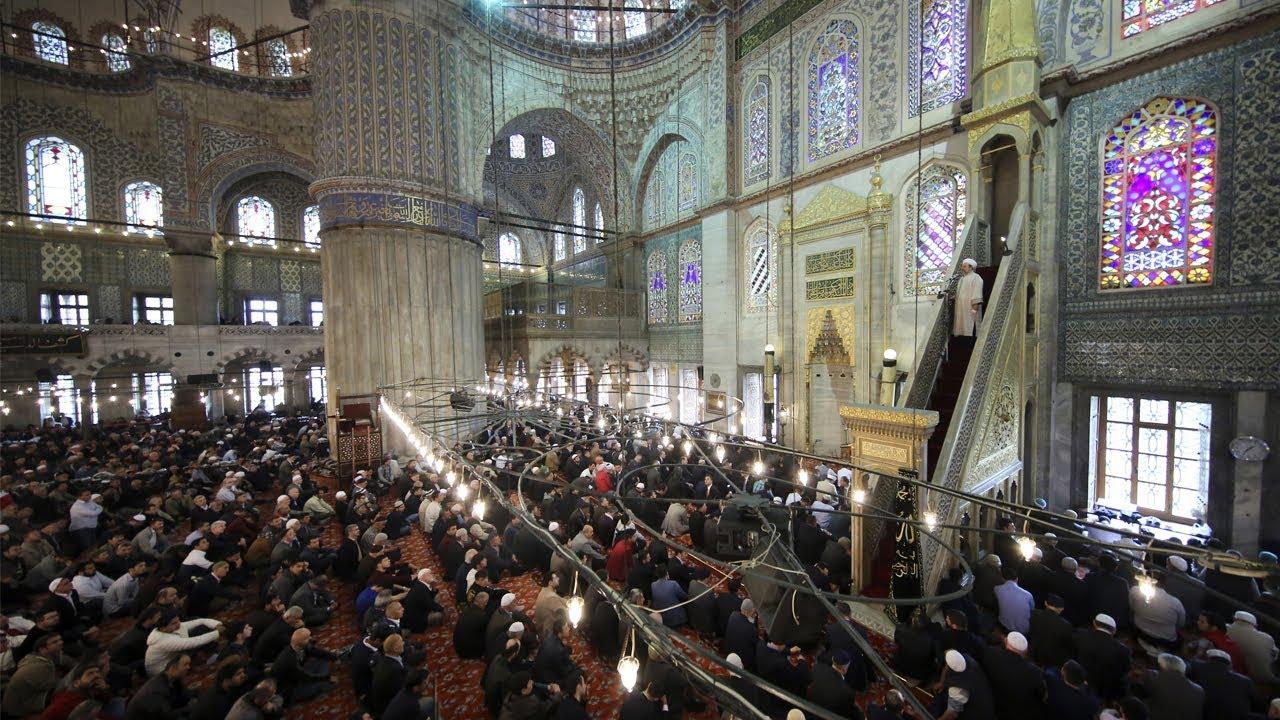 İstanbul Sultanahmet Camii I Cuma Hutbesi I 08.04.2016