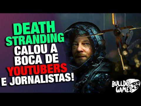 Death Stranding CALOU A BOCA de Youtubers e Jornalistas Que Falaram BOSTA!