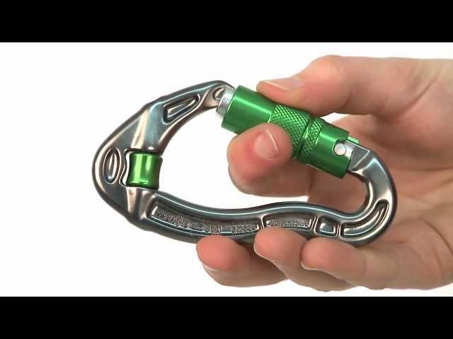Видео Карабин DMM Revolver Quicklock титаново-красный