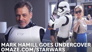 Mark Hamill Goes Undercover as a Stormtrooper on Hollywood Blvd