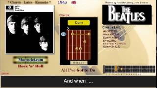 The Beatles - All I've got to do #0424