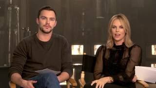 Nicholas Hoult and Charlize Theron answer fan questions about Mad Max: Fury Road