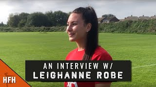 LEIGHANNE ROBE | LIVERPOOL PRE-SEASON 2019/20 INTERVIEW