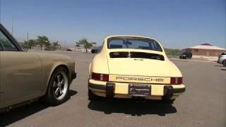 Rebuilt Classic Porsche 911 Sports Cars on Cross-Country Trip