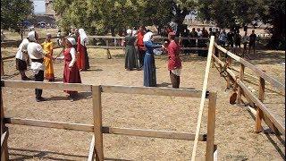 Реконструкция. Средневековые танцы на фестивале в Аккермане