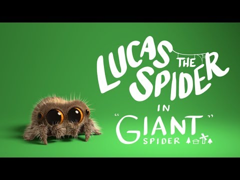 Lucas the Spider is a Giant