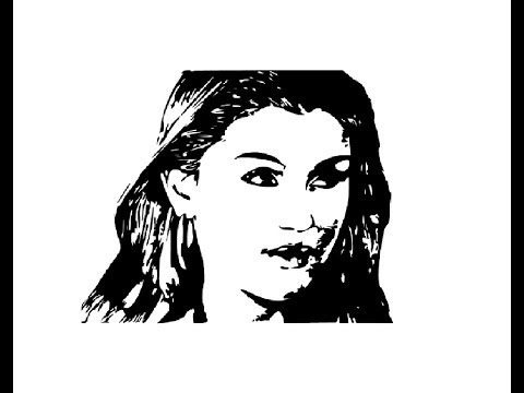 How to draw Hansika Motwani face pencil drawing step by step