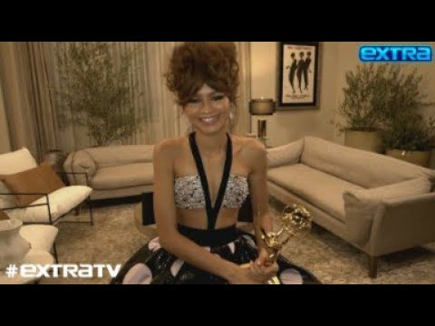 Zendaya Reacts to History-Making Win at the Emmys 2020