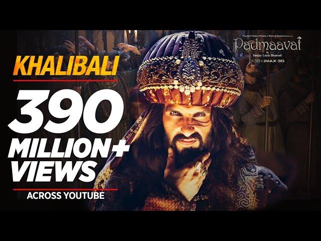 Khalibali Full Video Song HD | Padmaavat Movie Songs | Ranveer Singh | Deepika