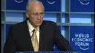 Davos Annual Meeting 2004 - Dick Cheney