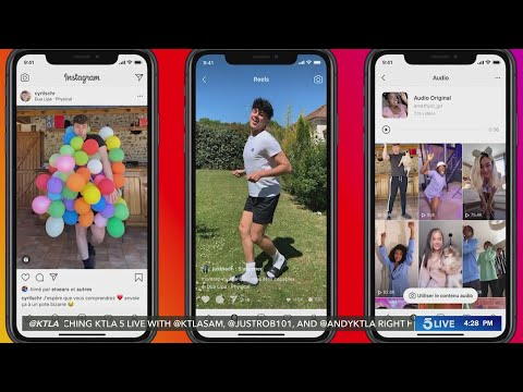 Facebook launches Instagram Reels, as TikTok's future in the U.S. remains unclear