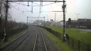 "A train driver""s view: Hoek van Holland Haven - Rotterdam"