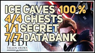 Zeffo Ice Caves 100% Explored Chests Secrets And Echo Star Wars