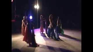 Esibizione Danza del Ventre 1° anno Festa Contrada di Colle Cagioli 20 Luglio 2012 Velo e Tabla