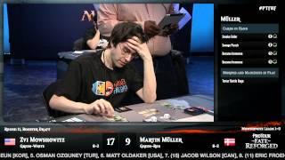 Pro Tour Fate Reforged Round 11 (Draft): Zvi Mowshowitz vs. Martin Muller