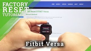 how to reset fitbit - Free video search site - Findclip Net