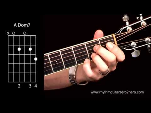 Learn Guitar Chords: A7 (Dominant 7) - Beginner Acoustic Guitar Lessons