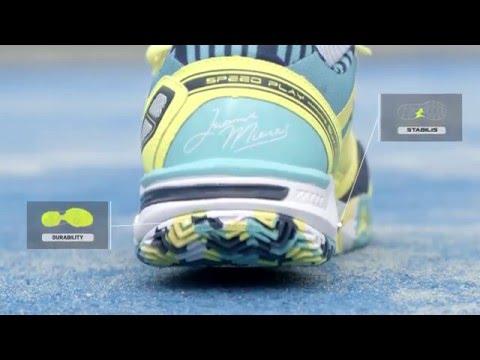 Joma Sport TV: Nueva zapatilla para padel y tenis Joma Slam.