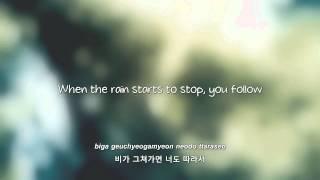 BEAST- 비가 오는 날엔 (On Rainy Days) lyrics [Eng.   Rom.   Han.]