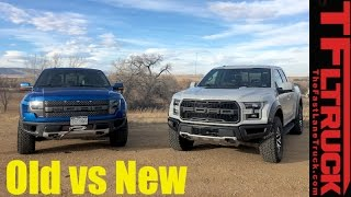 Old vs New: 2017 Ford Raptor vs 2014 SVT Raptor Review: Which Truck Is Better?
