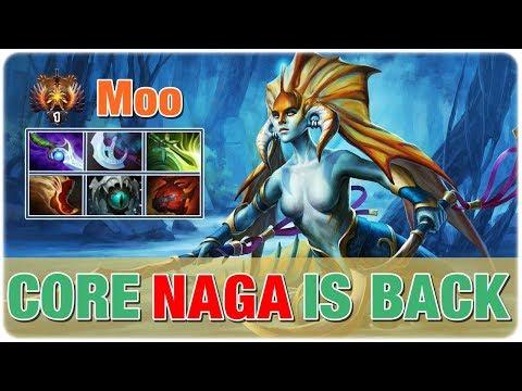 Naga Siren Carry - New Passive Skill %17 - 7.20 New Meta