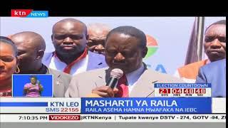 Raila Odinga asema maandamano dhidi ya wakuu wa IEBC yataendelea