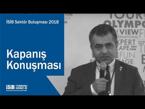 İSİB Sektör Buluşması 2018 – Kapanış Konuşması