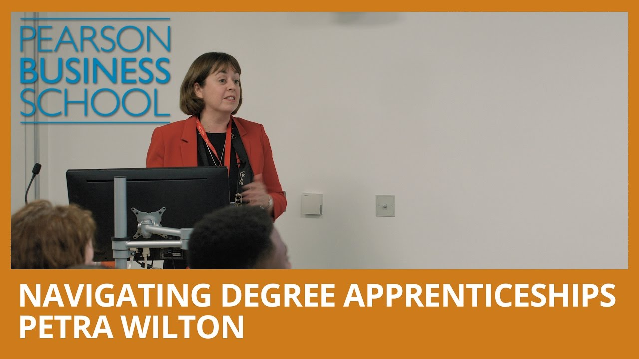 Navigating Degree Apprenticeships - Petra Wilton