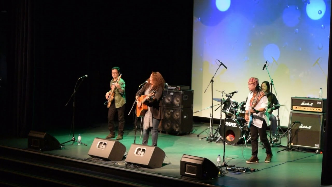 ASIN 2018: Lolita Carbon and the ASIN Band in Concert 2018 at Woodville Town Hall, Adelaide (12/08/18).