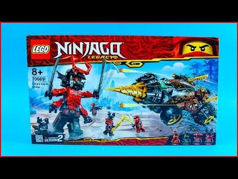 Vidéo LEGO Ninjago 70669 : La foreuse de Cole
