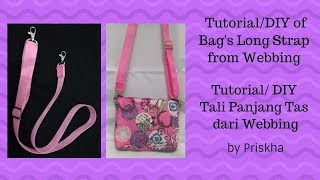 Tali Panjang Tas DIY/Tutorial (Bag