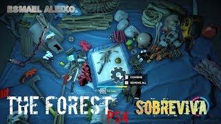 """THE FOREST - DICAS DE COMO SOBREVIVER"""" (PS4)."""