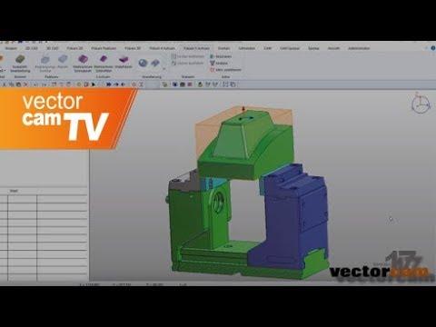 vectorcam-Version 17: 5-Achs-Schruppen