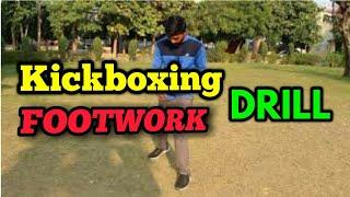 Beginners kickboxing footwork tutorial in hindi