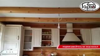 Матові натяжні стелі в будинку з дерева, бруса - видео 3