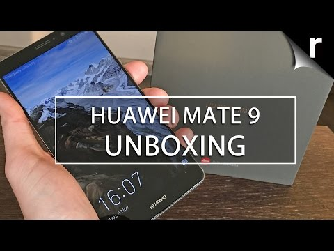 Huawei Mate 9 Unboxing and Hands On Review