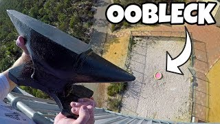 ANVIL Vs. OOBLECK from 45m!