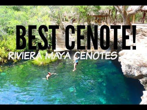 Best Cenote! Underground Lake | Tulum Cenotes Cancun Cenotes