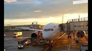Richard Quest describes KQ's maiden flight from Nairobi to New York