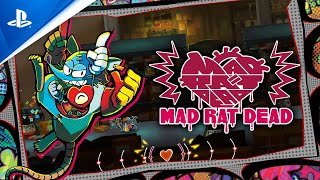 Mad Rat Dead - Gameplay Trailer   PS4