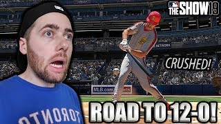 THE PITCHER WENT DEEP!! MLB THE SHOW 19 BATTLE ROYALE