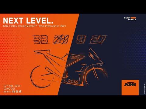 MotoGP 2021 新型マシン発表 KTM 発表ライブ配信動画