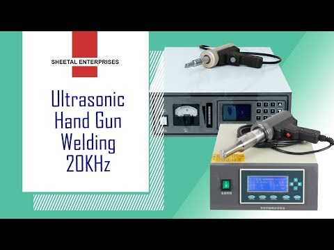 Ultrasonic Hand Gun Welder