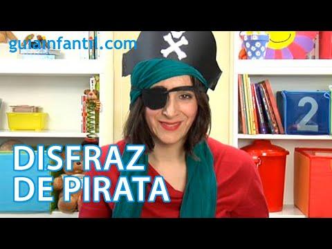 Cómo hacer un disfraz de pirata para niños. Manualidad de Carnaval