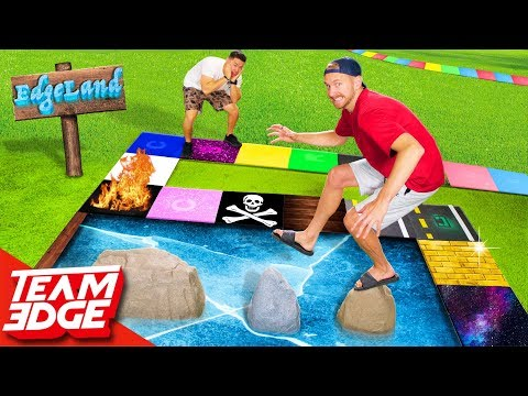 Edgeland Returns!! | Dangerous Giant Board Game!