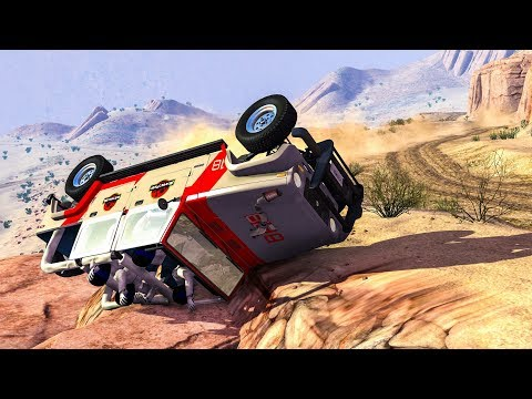 OFFROAD CRASHES #5 - BeamNG Drive Crashes (Off Road Car Crashes)