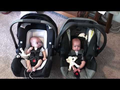 Nina Pipa vs Britax B Safe 35 Infant Car Seat Review with Twins| Mono Mono Twins