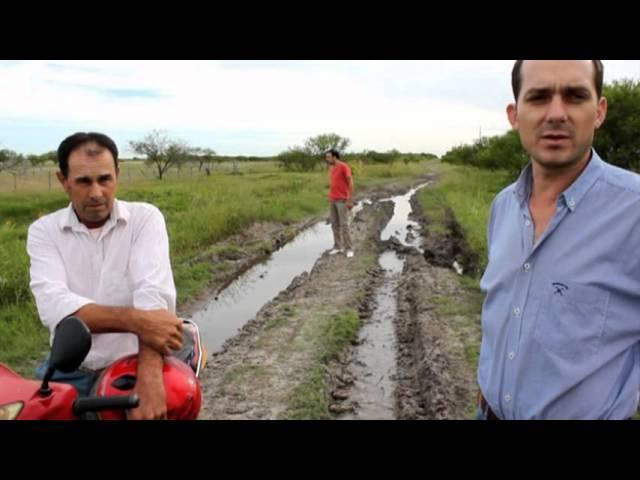 Pésimo estado de los caminos rurales en la zona Viale