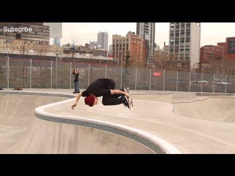 Fritz Mead and John Gardner skate Chelsea Piers